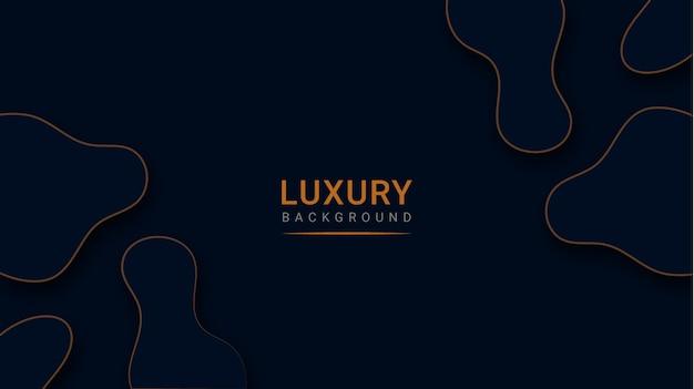 Abstracte moderne luxe papier gesneden achtergrond