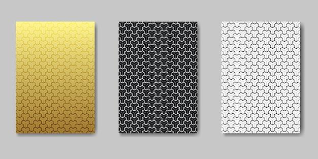 Abstracte moderne naadloze patronen van hipsterontwerp