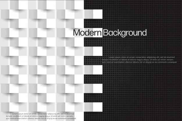 Abstracte moderne stijl achtergrond sjabloon.