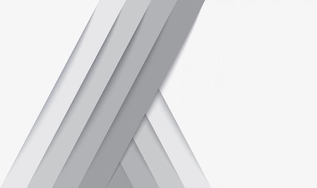 Abstracte moderne witte lijnenachtergrond