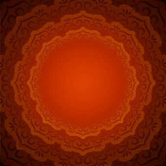 Abstracte mooie decoratieve mandalaachtergrond
