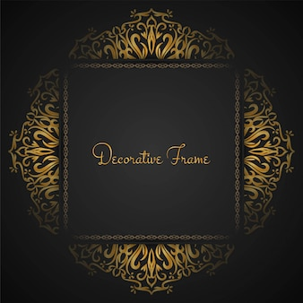 Abstracte mooie luxe frame achtergrond