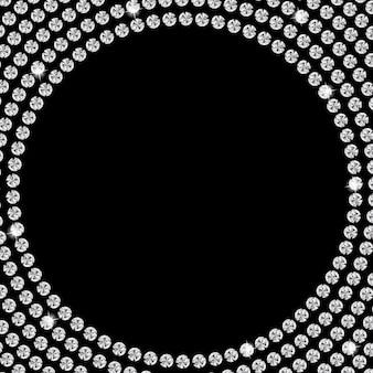 Abstracte mooie zwarte diamantachtergrond