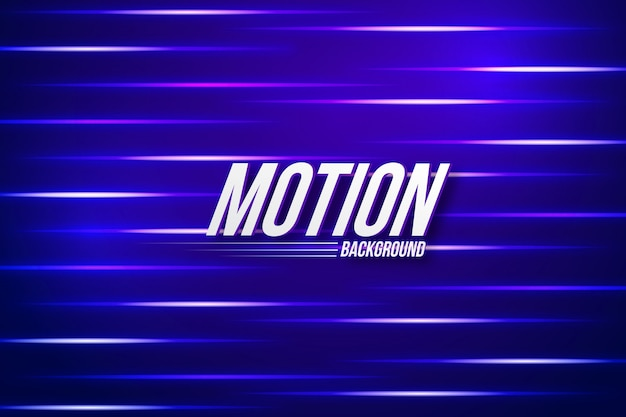 Abstracte motion graphics achtergrond sjabloon