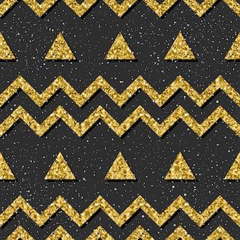 Abstracte naadloze achtergrond. gouden glitter textuur. patroon voor kerstkaart, kerstuitnodiging, trouwalbum, plakboek, vakantiepapier, textiel, t-shirt, tasafdruk, behang enz.