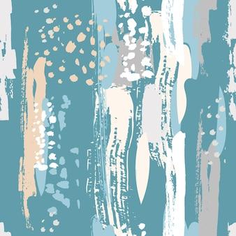Abstracte naadloze artistieke trendy pastel achtergrond met lijnen