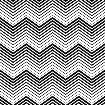 Abstracte naadloze patroon zwart-witte driehoek met lijnstijl. naadloos lijnenpatroon