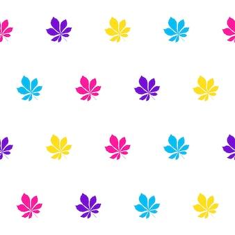 Abstracte naadloze patroonachtergrond voor het textielstaal van de ontwerpstof