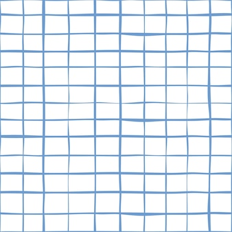 Abstracte naadloze vector achtergrond school lijn collectie. notebook witboek patroon.