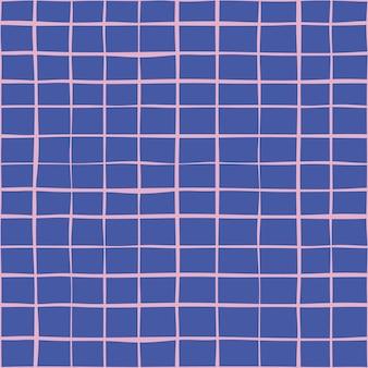 Abstracte naadloze vector achtergrond stof lijn collectie.