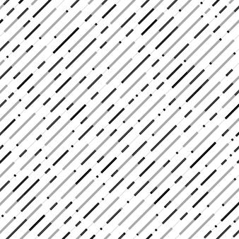 Abstracte naadloze zwarte grijze het patroonachtergrond van de streeplijn.