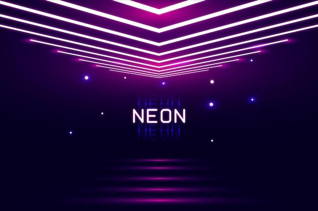 Abstracte neonlichten achtergrond