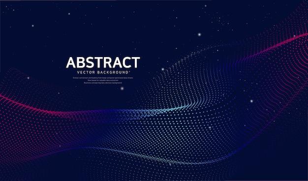 Abstracte netwerkachtergrond