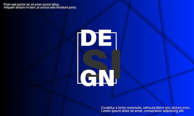 Abstracte ontwerp. geometrische achtergrond. driehoek elementen. dynamische vormen samenstelling.