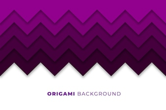 Abstracte origami achtergrond