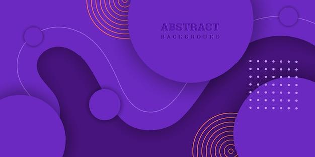 Abstracte paarse achtergrond met geometrische vormen
