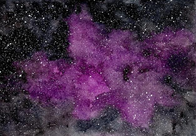 Abstracte paarse achtergrond met sterren