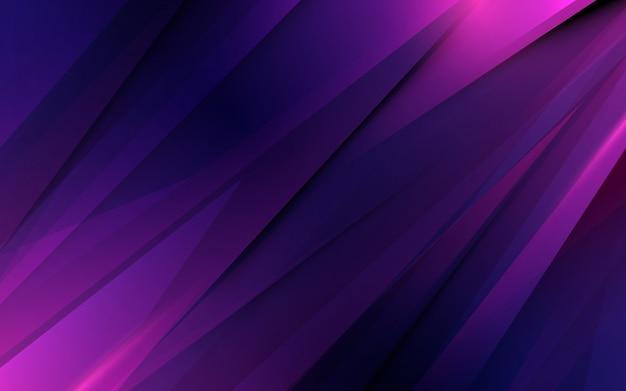 Abstracte paarse driehoeken beweging futuristische achtergrond