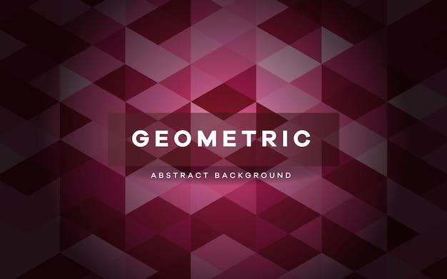 Abstracte paarse geometrische vormen achtergrond