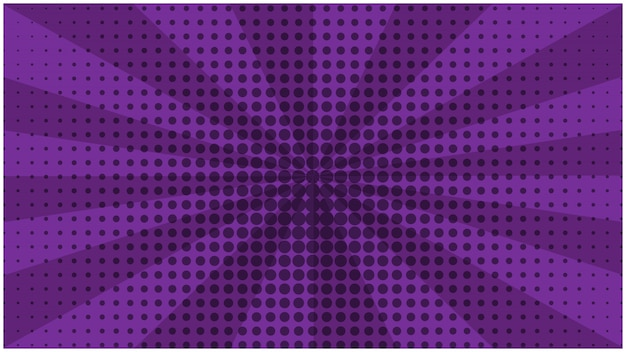 Abstracte paarse gestreepte retro komische achtergrond