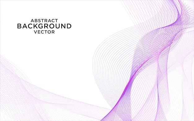 Abstracte paarse golf achtergrond