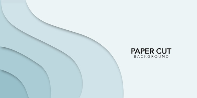 Abstracte papercut achtergrond