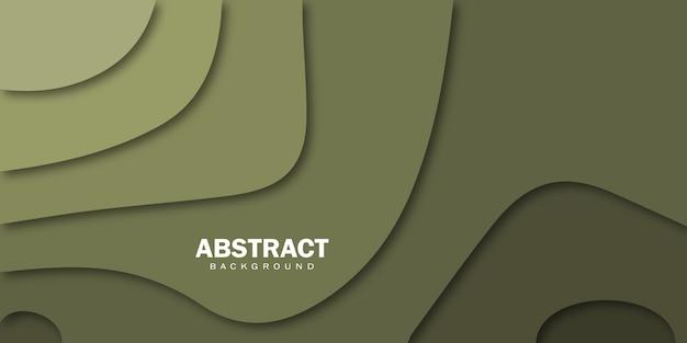 Abstracte papercut kleur achtergrond.