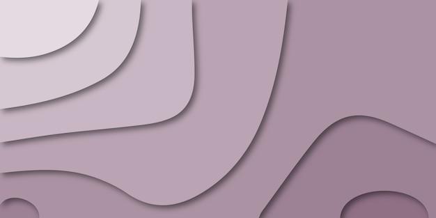 Abstracte papercut ontwerp kleur achtergrond.