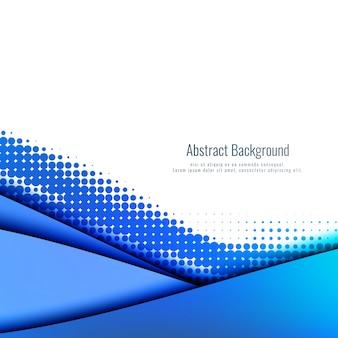 Abstracte papercutachtergrond met halftone