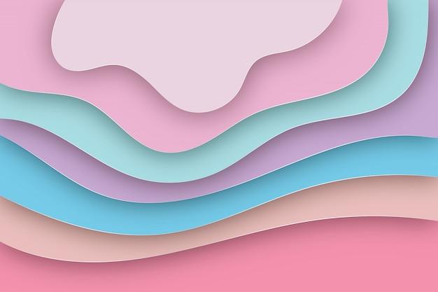 Abstracte papier gesneden achtergrond