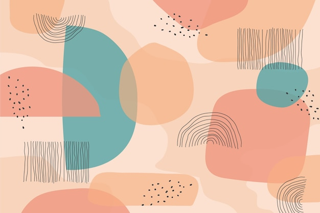 Abstracte pastel achtergrond concept
