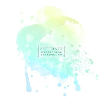 Abstracte pastel aquarel achtergrond