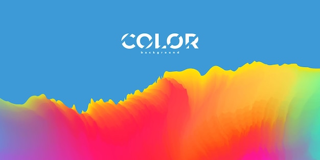 Abstracte pastel kleurrijke achtergrond met kleurovergang ecologie concept voor uw grafisch ontwerp,