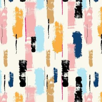 Abstracte pastel verf penseelpatroon