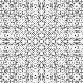 Abstracte patroon. geometrisch ontwerp ornament