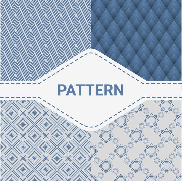 Abstracte patrooncollectie