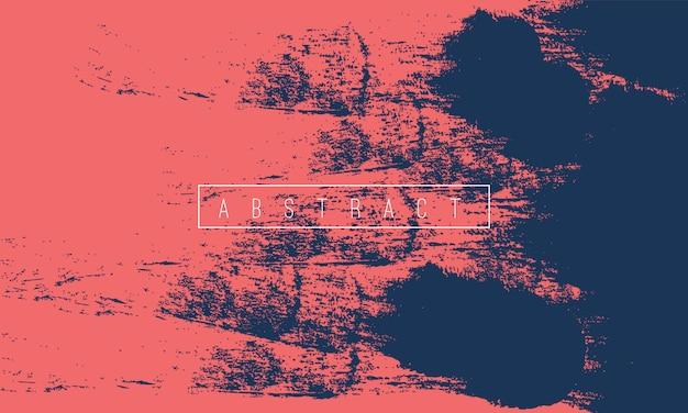 Abstracte penseel verf grunge achtergrond