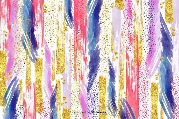 Abstracte penseelstreken achtergrond