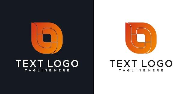 Abstracte pictogrammen voor eerste letter b pictogram logo ontwerpsjabloon