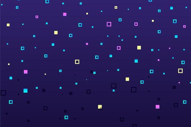 Abstracte pixel regen achtergrond