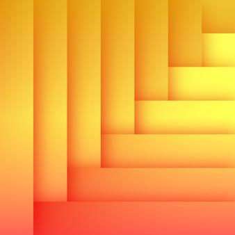 Abstracte platte oranje achtergrond sjabloon