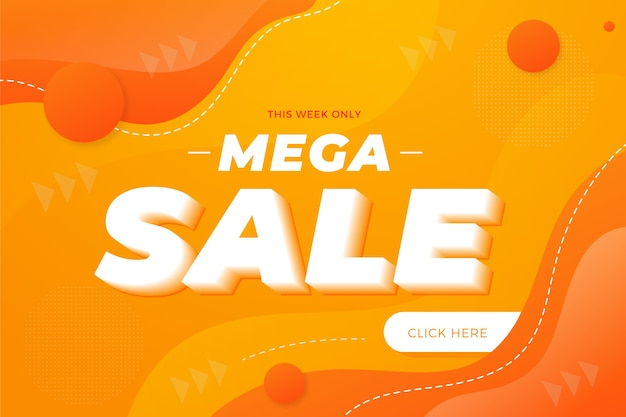 Abstracte promotie voorjaar mega verkoop