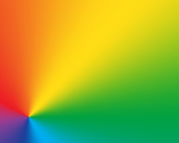 Abstracte radiale gradiënt regenboog achtergrond
