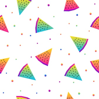 Abstracte regenboog naadloze patroon achtergrond. modern staal voor verjaardagskaart, uitnodiging voor kinderfeestje, winkelverkoop behang, vakantie inpakpapier, stof, tas print, t-shirt, workshop reclame