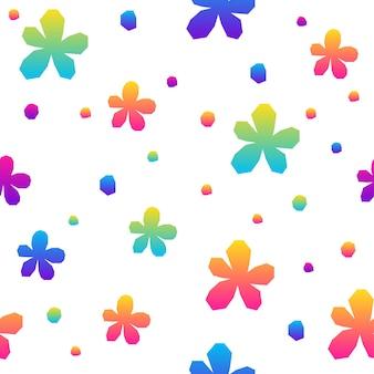 Abstracte regenboog naadloze patroon achtergrond. moderne futuristische illustratie voor ontwerp verjaardagskaart, uitnodiging voor feest, behang, vakantie inpakpapier, tas print, t-shirt, workshop reclame enz