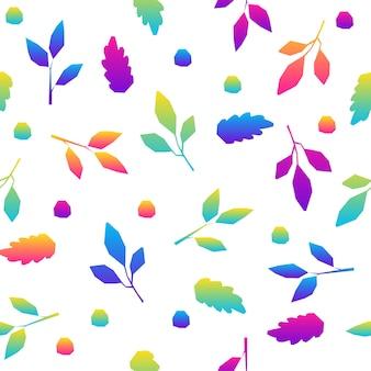 Abstracte regenboog naadloze patroon achtergrond. moderne futuristische illustratie voor ontwerpkaart, feestuitnodiging, behang, vakantiepapier, stof, tasafdruk, t-shirt, workshopreclame enz