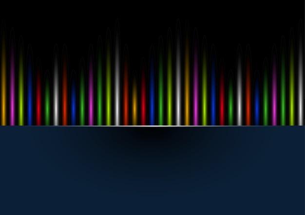 Abstracte regenboogkleuren