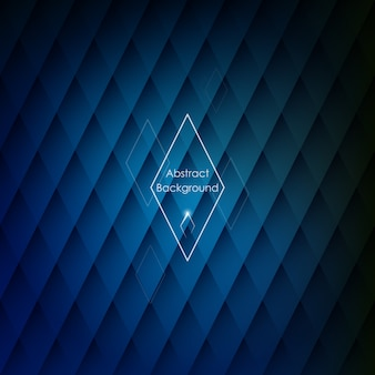 Abstracte rhombic blauwe achtergrond.