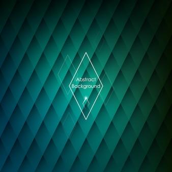 Abstracte rhombic groene achtergrond.