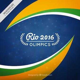 Abstracte rio olimpics achtergrond